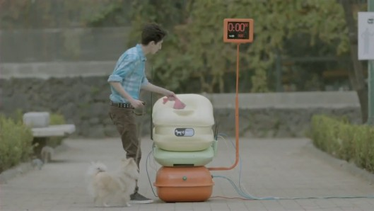 wiipoo Mexican Internet Company Gives Out Free Wifi In Exchange For Dog Poop...
