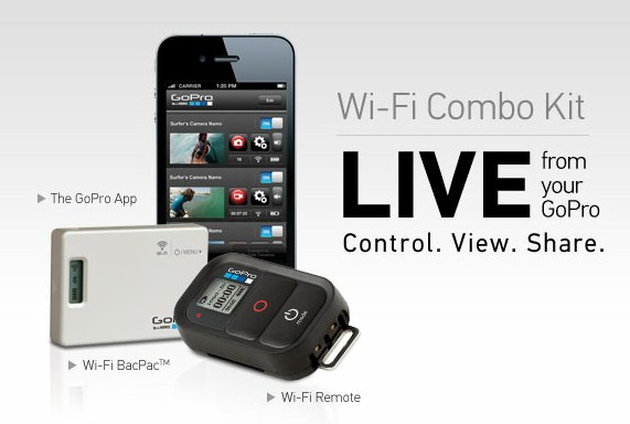 120607-gopro GoPro Wi-Fi BacPac and Wi-Fi Remote Controls Multiple Cameras