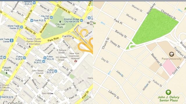 120614-applemaps1-640x360 New Apple Maps for iOS 6 vs. Google Maps Comparison