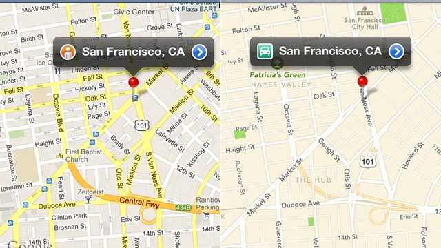 120614-applemaps2 New Apple Maps for iOS 6 vs. Google Maps Comparison