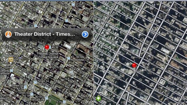 120614-applemaps6 New Apple Maps for iOS 6 vs. Google Maps Comparison