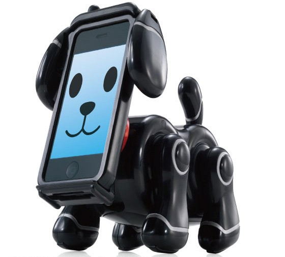 120619-smartpet3  iPhone-Powered SmartPet Robot Dog Wins Tokyo Toy Show