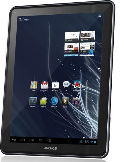 120709-archos  Archos 97 Carbon Android ICS Tablet Challenges Nexus 7