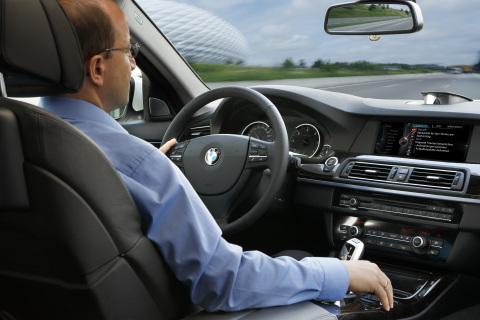 BMW Dragon Drive! Voice-Based Messaging Comes To Select 2012 Model BMWs