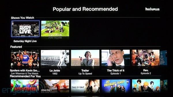 hulup Apple TV Finally Gets Hulu Plus