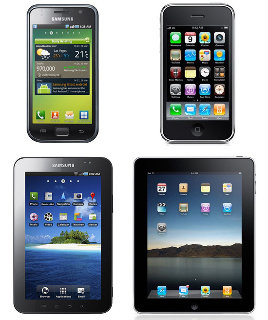 iSam Google Warned Samsung That Galaxy Tablets Were Too Similar To The iPad