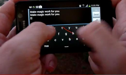 keymonk Keymonk Android Keyboard Offers Two-Handed Swype-Like Experience