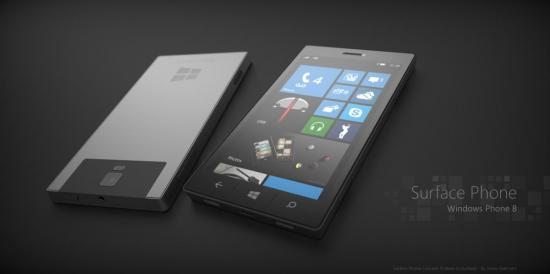 surfacephone Surface Phone And RIM WP8 Concept Devices