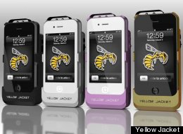 yellowjacket Yellow Jacket Case Brings A Stun-Gun Attachment To The iPhone