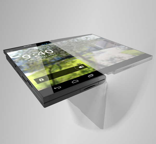 120816-sony2 Sony Pocket Tablet Concept Uses Flexible OLED