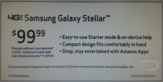 120824-stellar  Verizon Getting $99 Samsung Galaxy Stellar with Starter Mode