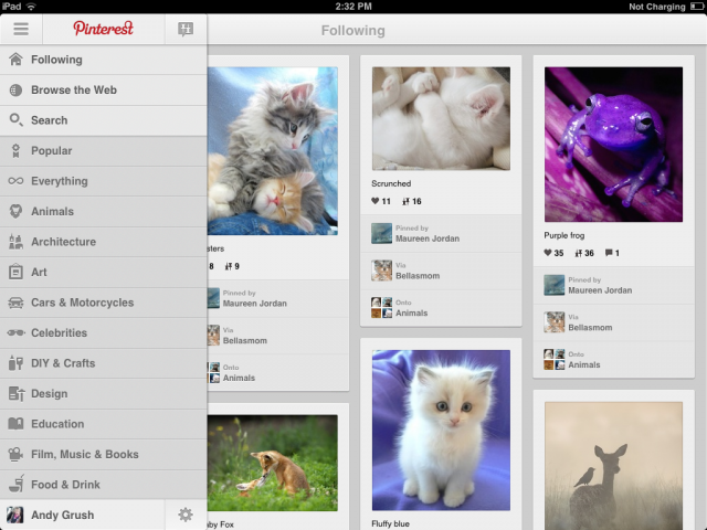IMG_0014-640x480 App Review: Pinterest (iPad & Android)