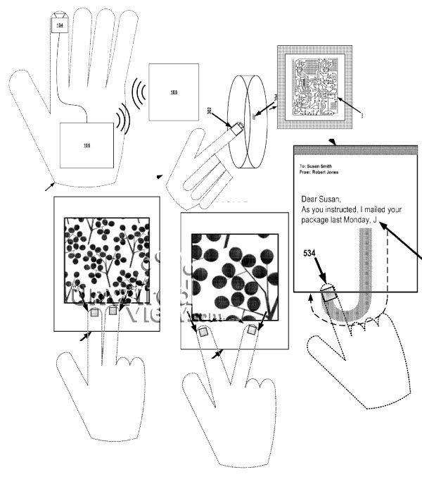 googleglovepatent New Patent Suggests Google Wants To Make Minority Report Gloves A Reality