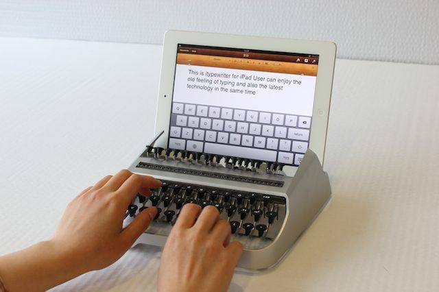 itype Wish Your iPad was a Typewriter? Check Out iTypeWriter