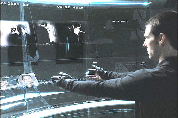 minorityreport New Patent Suggests Google Wants To Make Minority Report Gloves A Reality