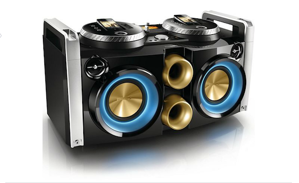 p1 Unleash The Ultimate Party Experience With Your iPhone And The Phillips FWP3200D