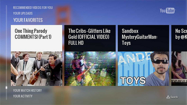 y1 Sony Playstation's Youtube App now allows you to control it with your Smartphone