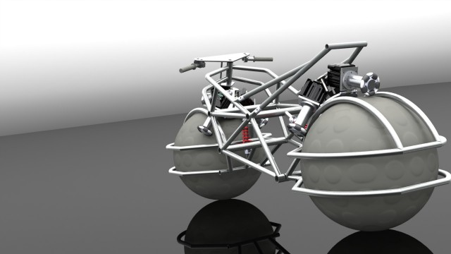 120912-bike1-640x360 Giant Spherical Wheels used for Omnidirectional Prototype Motorcycle