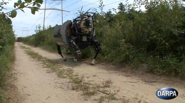 "120912-darpa Video: DARPA Upgrades ""Big Dog"" LS3 Four-Legged Robots"