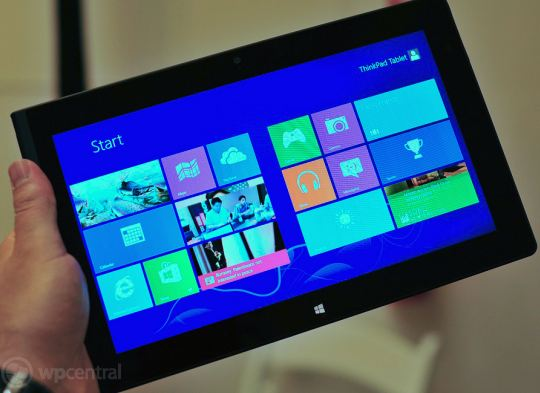 120921-lenovo  Lenovo ThinkPad 2 Windows 8 Tablet with Keyboard Priced at $799