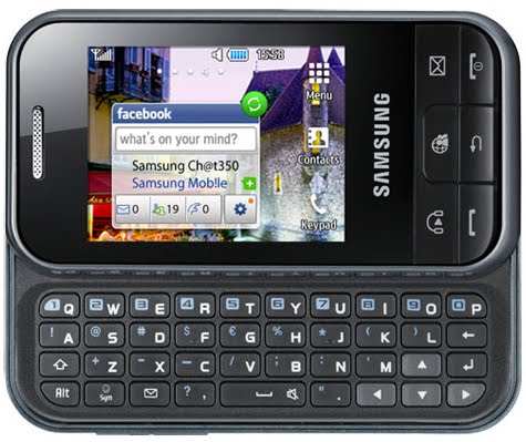 Samsung-Ch@t-350  Get the Samsung Chat GT-C3500 for $59.99 Outright