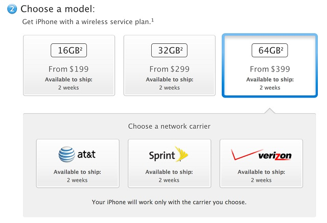 i Apple's Online Store Pushes Back iPhone 5 Shipment Dates