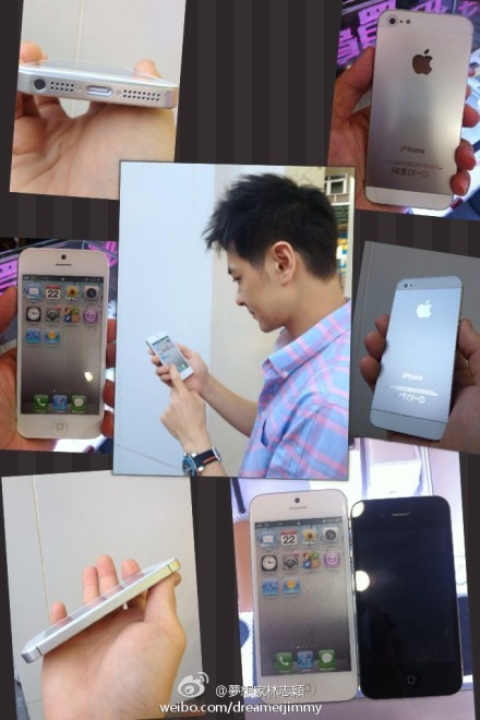 i5 The iPhone 5 has Fallen into the Hands of a Chinese Popstar, or So He Claims