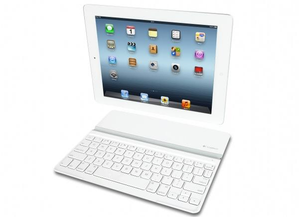 keyboardcover Logitech Debuts White iPad Keyboard Cover