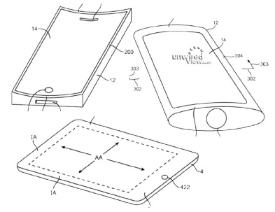 p2 Apple Patents Surface For Inductive Charging, Curved Screen and Tactile Feedback