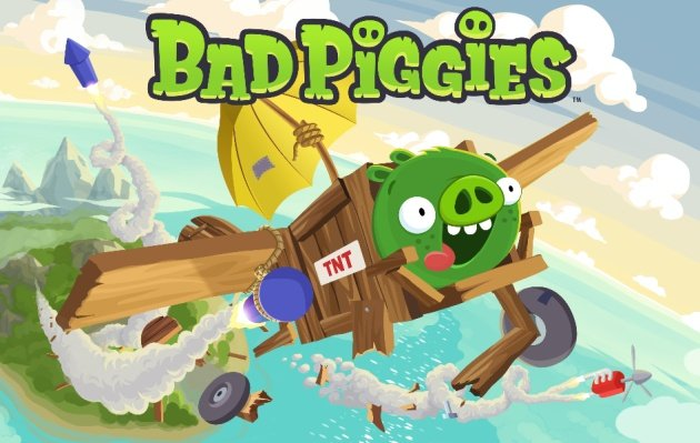 piggies Bad Piggies Arrives as a Spin-Off of the Angry Birds Series