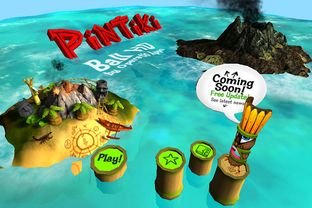 ptb3 App Review: Pin Tiki Ball for iOS