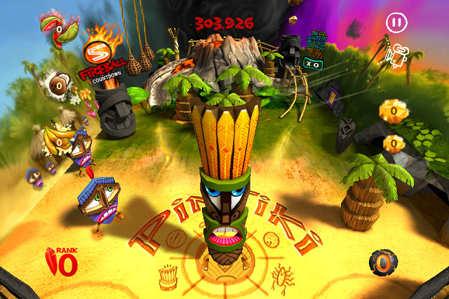 ptb4 App Review: Pin Tiki Ball for iOS