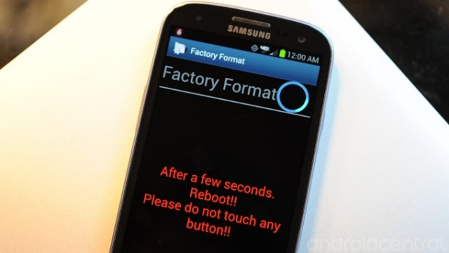 Samsung Factory Reset