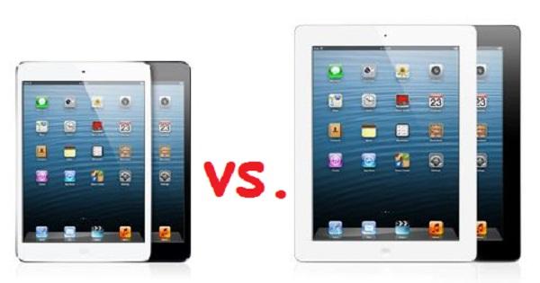 121027-ipad  Comparing the iPad Mini vs. New iPad 4