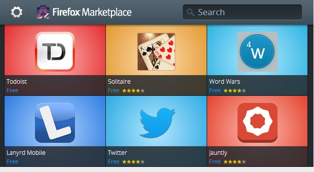 Firefox-market Firefox Marketplace comes to Android, Currently in Beta