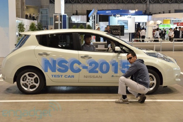 NSC Nissan's NSC-2015 Can Park Itself, Driver Totally Optional