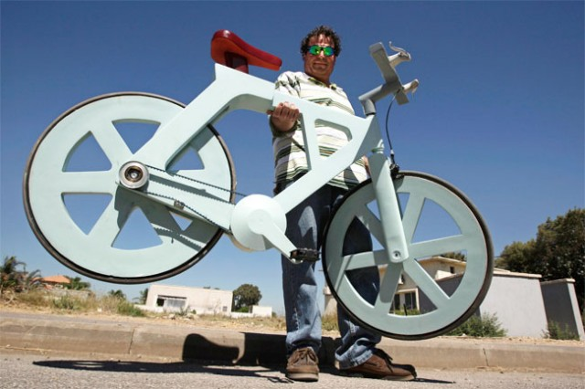 cardboard-bike-640x426 Unique Cardboard Bike Will Only Cost $20