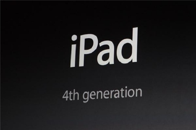 ipad4 Apple Announces the 4th Generation iPad