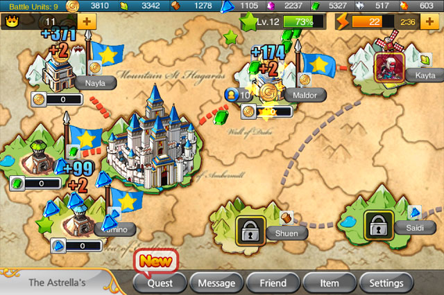 kr2 Game Review: Kingdom Royale for iPhone