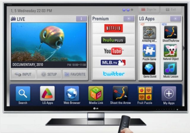 lg-smart Is a Web OS Smart TV is in the works by LG?