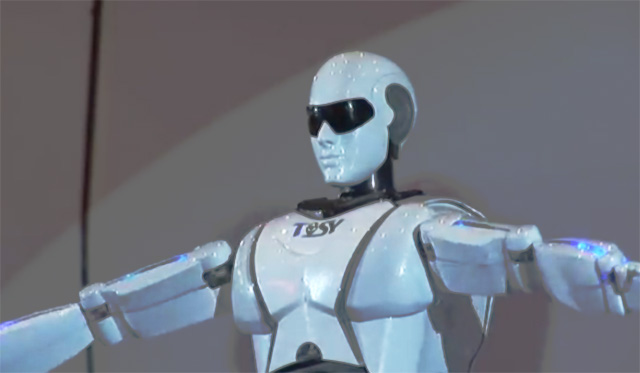mrobo1 mRobo Dancing Robot Looks Innocent Now, But in 2020?