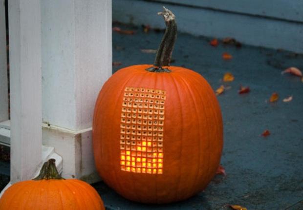tetris-pumpkin Tetris + Pumpkin = Pumpktris