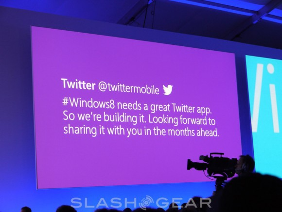 "twitter Official Twitter App Coming to Windows 8 in ""the coming months"""