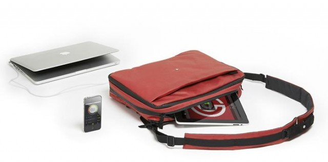 121121-phorce Phorce Smart Bag Charges Your Gadgets on the Go