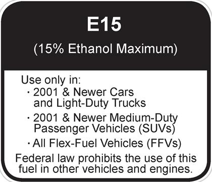 E15labelx-wide-community EPA E15 Approval Leaves Some Worried