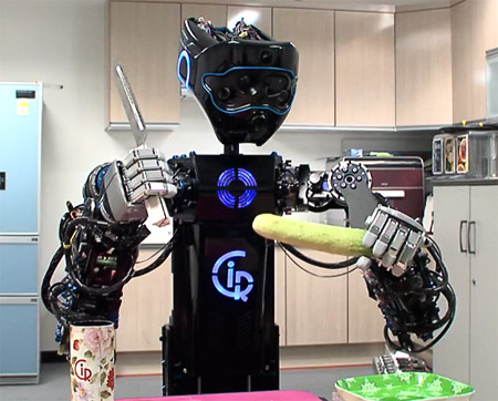 ciros Fear the Salad making Robot