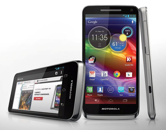 electrify-m Motorola Electrify M announced for U.S. Cellular