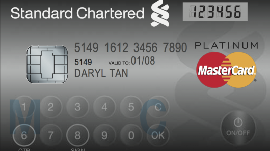 mastercard Mastercard's New Credit Card has LCD Display