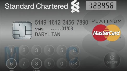 mastercard Mastercard's New Credit Card has LCD Display