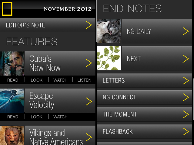 natgeo1 National Geographic Magazine App Review
